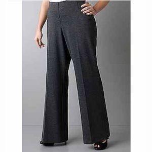 NWT Lane Bryant herringbone wide leg pants